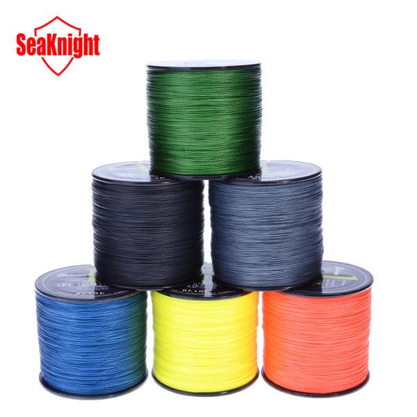 SeaKnight Brand 500M PE Braided Fishing Line Multifilament 20-60LB Fish Line