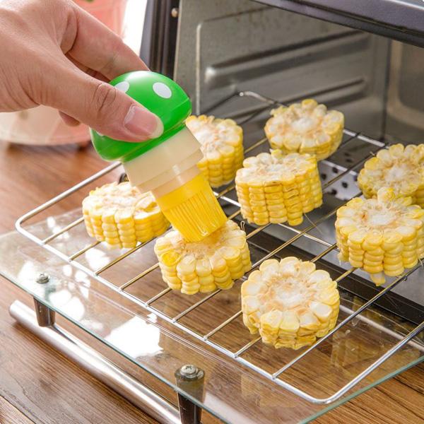 Silicone Pastry Brush Mushroom Shape Oil Brush Baking BBQ Brush Cake Bread Oil Cream Cooking Tools