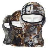 Camo Thermal Fleece Balaclava Outdoor Ski Masks Hoods Hunting CS Tactical Face Masks
