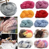250g 16 Colors Super-thick Cotton Knitting Wool Yarn DIY Hat Scarf Sweater Yarn Ball