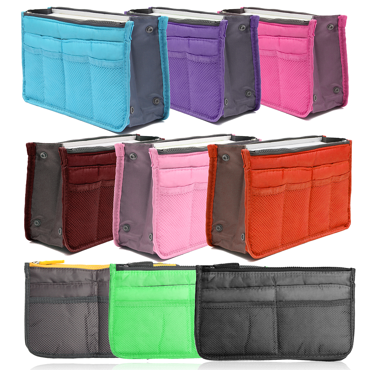 Large Travel Toiletry Tidy Wash Cosmetic Bag Compact