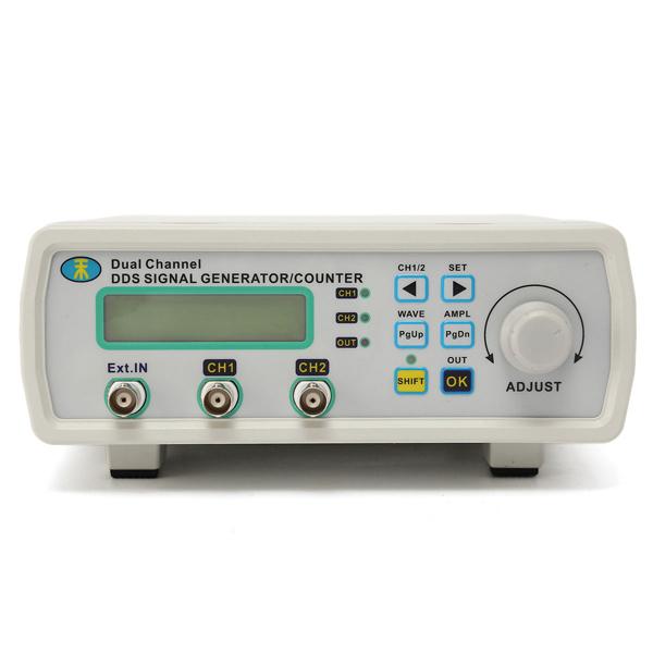 Digital Signal Generator : Mhs a mhz digital dds dual channel signal generator