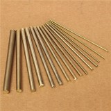15pcs 2-8mm Diameter Cylinder Brass Rod Bars Length 100mm