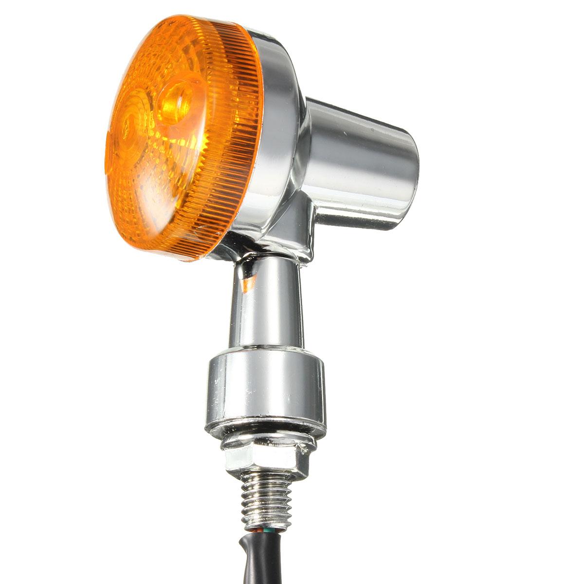 4pcs 12V Motorcycle Turn Brake Signal Light Bulb Lamp Amber Indicators
