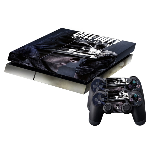 Hand pattern protective skin sticker cover skin sticker for Ps4 hunting and fishing games