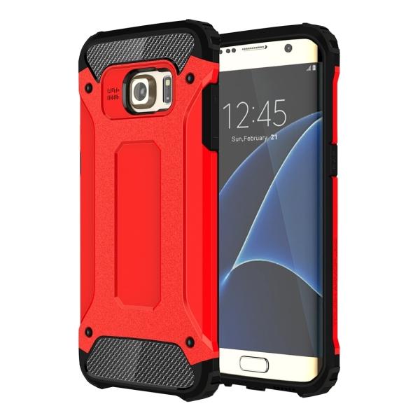 super popular 1ffec 15394 Tough Armor TPU + PC Combination Case for Samsung Galaxy S7 Edge / G935  (Red)