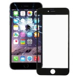 Front Screen Outer Glass Lens with Front LCD Screen Bezel Frame for iPhone 6 (Black)