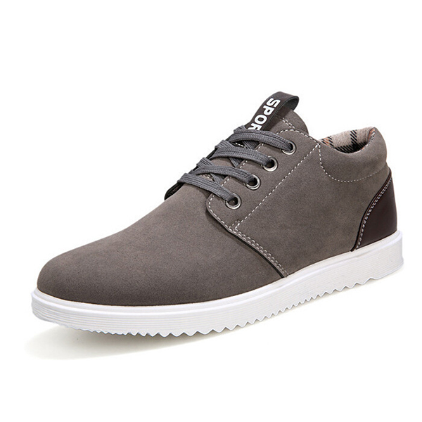 fashion sports casual athletic sneakers suede