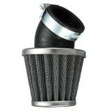40mm 45 Degree Air Filter Black For 50cc 110cc 125cc 140cc Pit Dirt Bike Motorbike