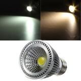 E27 5W 85-265V White/Warm White Energy Saving LED COB Spot Light Lamp Bulb