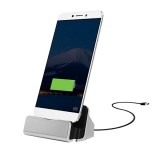 USB 3.1 Type-c Sync Data / Charging Dock Charger for Huawei 6P, LG 5X, Google 5X / 6P, Letv 1S / Le 1 Pro, Xiaomi 4C, Microsoft Lumia 950 / 950X, Nokia N1 (Silver)