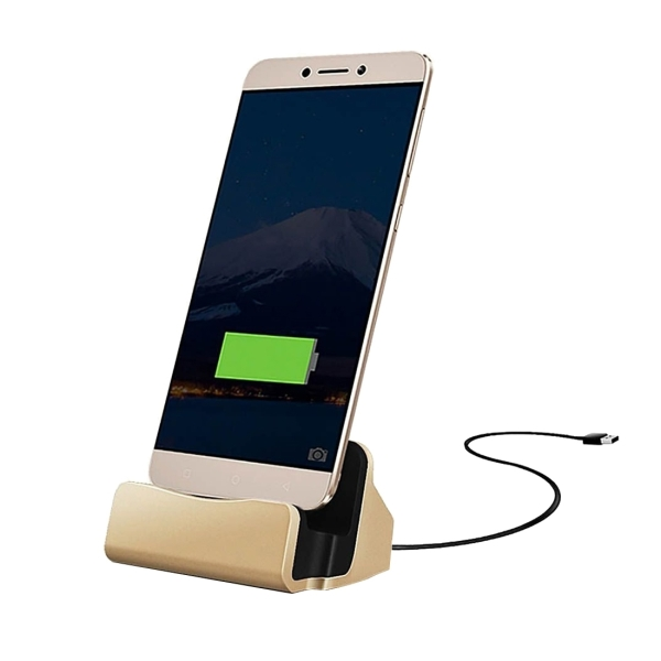 USB 3.1 Type-c Sync Data / Charging Dock Charger for Huawei 6P, LG 5X, Google 5X / 6P, Letv 1S / Le 1 Pro, Xiaomi 4C, Microsoft Lumia 950 / 950X, Nokia N1 (Gold)