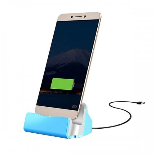 USB 3.1 Type-c Sync Data / Charging Dock Charger for Huawei 6P, LG 5X, Google 5X / 6P, Letv 1S / Le 1 Pro, Xiaomi 4C, Microsoft Lumia 950 / 950X, Nokia N1 (Blue)