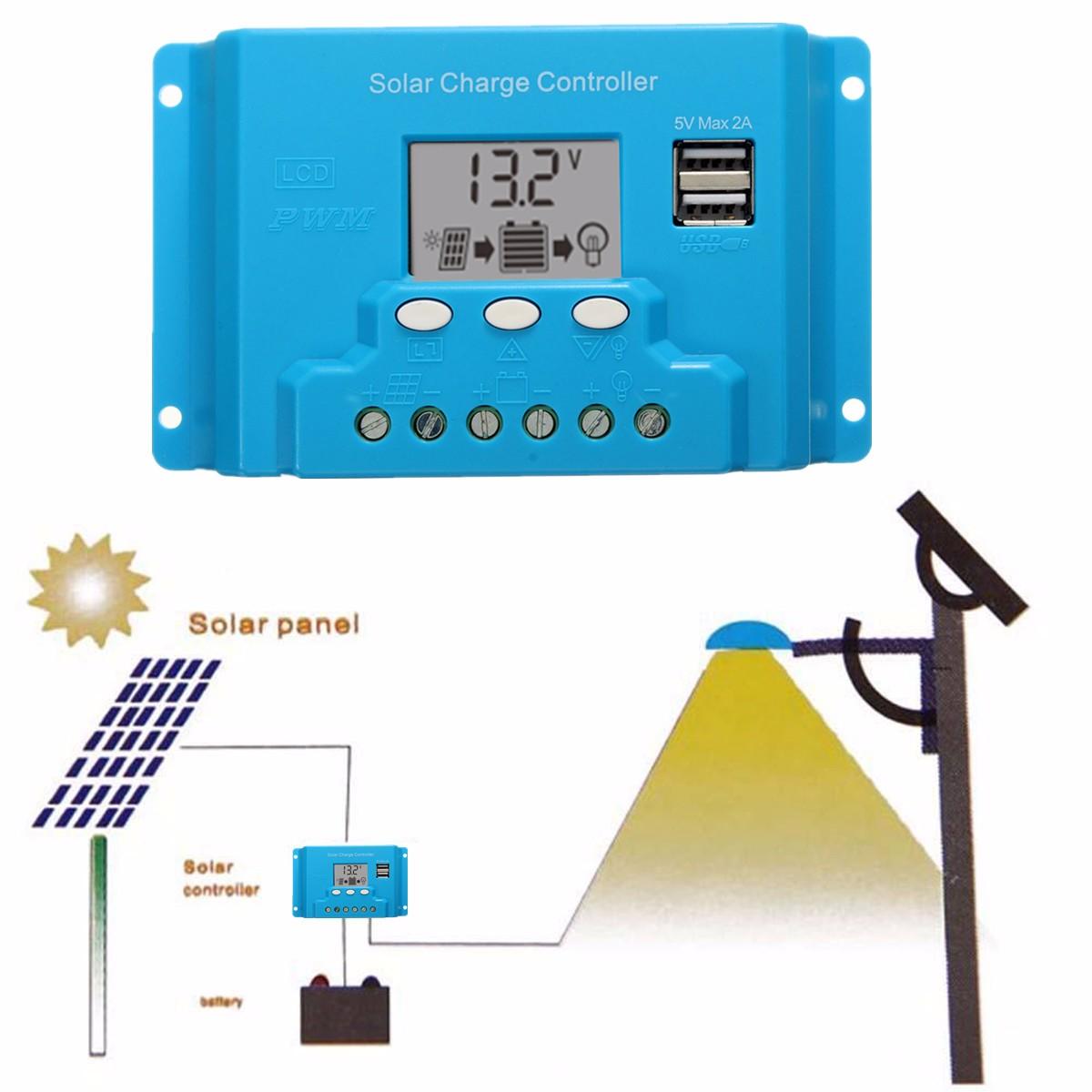 10a 20a 30a Lcd Pwm Solar Panel Charge Controller Battery Regulator 12v24v Automatic Art Of Circuits 4eff0d4b B179 2936 888b 9fa75364892e