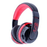 MX666 Bluetooth 4.0 Stereo Headset Headphones with Mic for iPhone 6 / 5 / 4, Samsung Galaxy S6 / Note 5, Support FM & TF Card (Red)