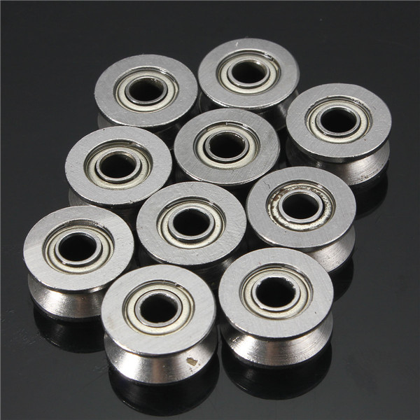 10pcs 624VV V Groove Sealed Ball Bearings Vgroove 4x13x6mm 1.5mm Deep Ball Bearings