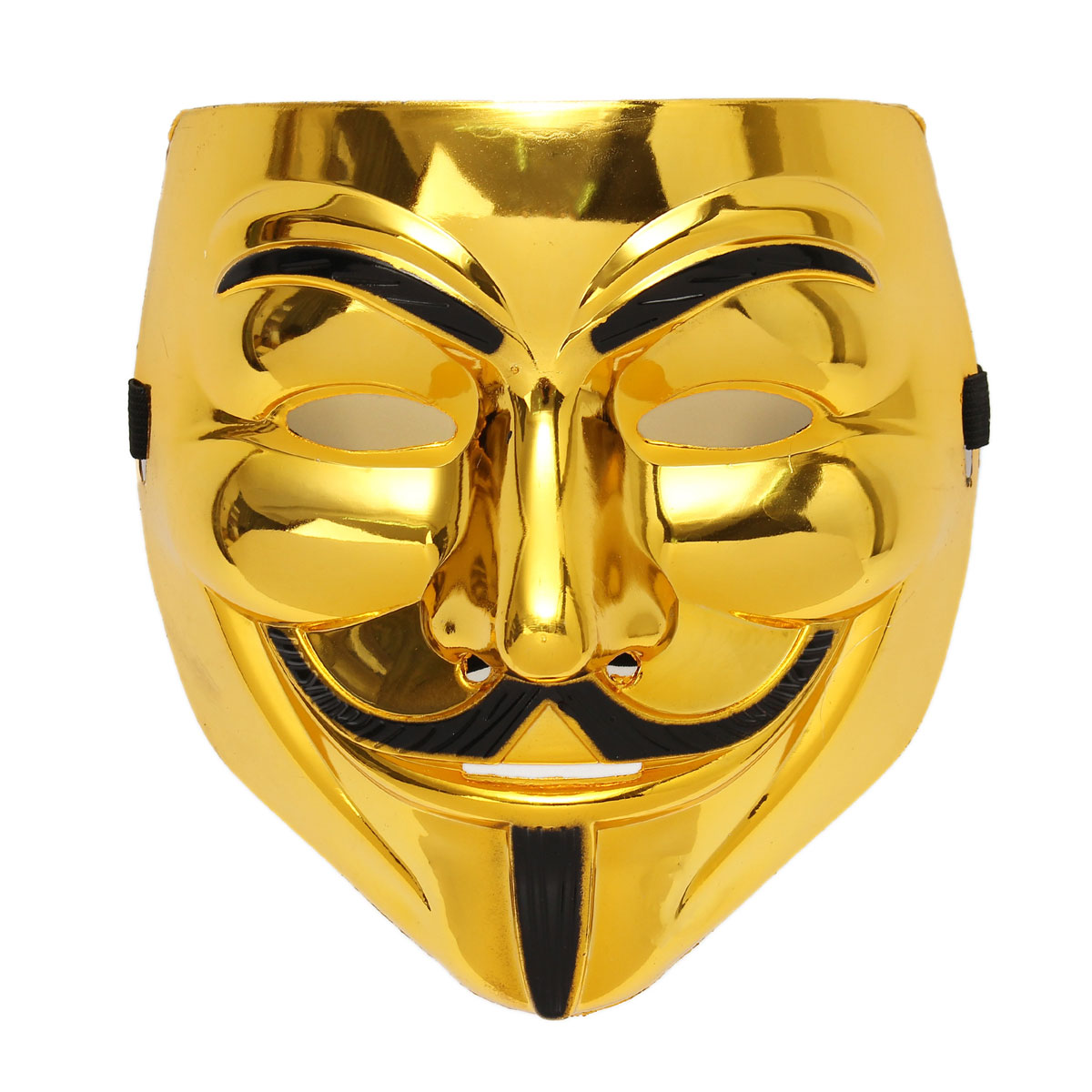V for Vendetta Guy Fawkes Face Mask Halloween Cosplay Costumes ...