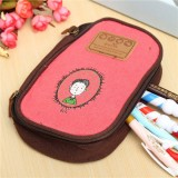 Pencil Bags Pen Case Storage Tool Stationery School Student Cosmetics Pouch
