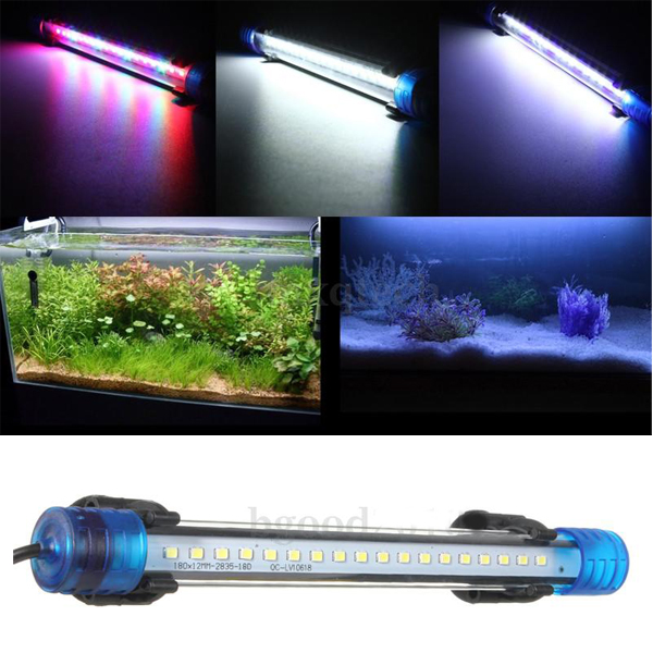aquarium waterproof led light bar fish tank submersible