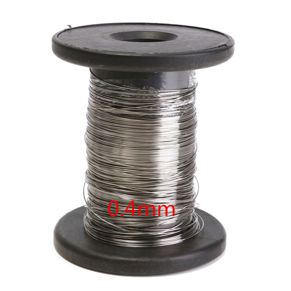 Stainless steel wire length m bright single