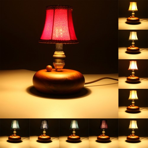 Lint Lampshade Pendant Wall Lamp Light Hanging Vintage European Style Home Bedroom Decor Alex NLD