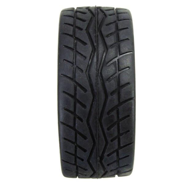 4 Pcs Flat Wheel Tire Smart Car Accessories Racing Tire