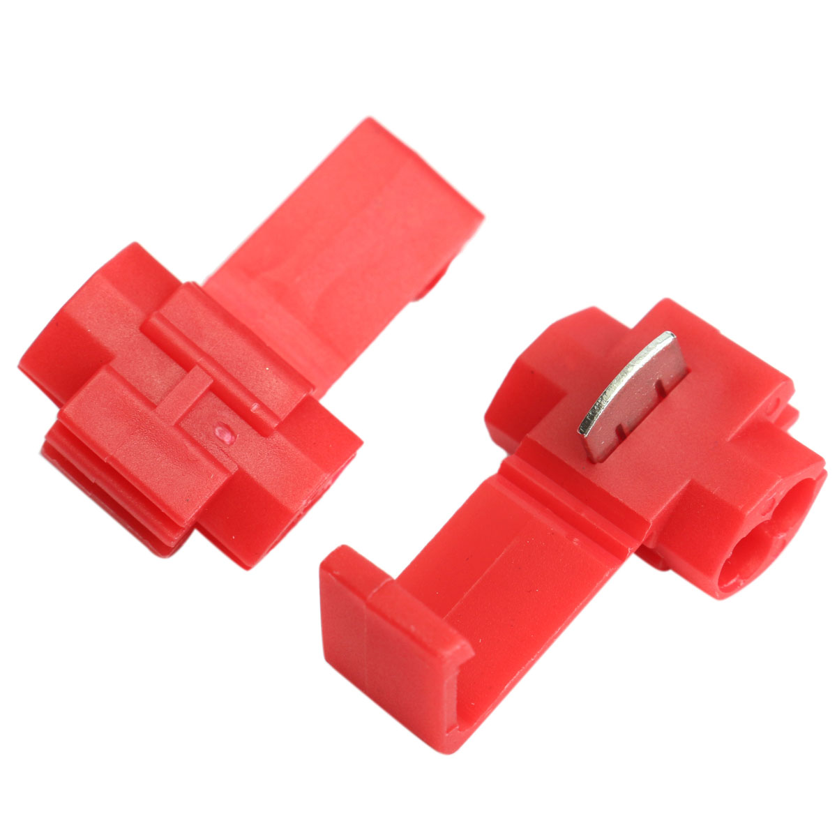 Electrical Wire Connectors : Pcs lock wire electrical cable connector quick splice