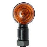 Pair 10mm Motorcycle Bullet Turn Signal Indicator Light Lamp For Harley Chopper