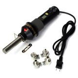 GJ-8018 200W 110V Electronic LCD Heat Gun Hot Air Gun Welding Tools with 4 Nozzles