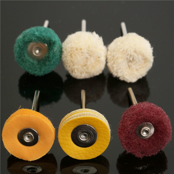6pcs Polisher Buffer Wheel Polishing Buffing Pad Kit For