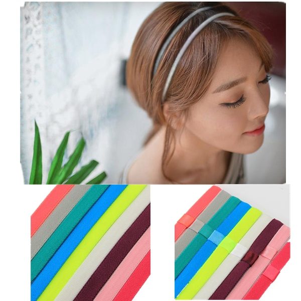 Men Women Hair Accessories Yoga Sports Gym Stretch Headband Hair