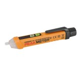 PEAKMETER PM8908C 12V-1000V Intelligent Non-contact AC Voltage Detector Tester Detecting Pen with Flash Light