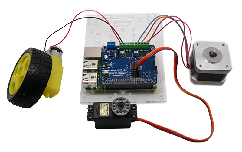 Full Function Robot Expansion Board Support Stepper Motor