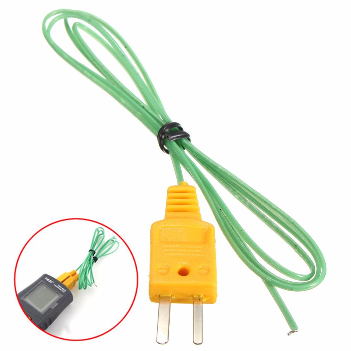 K-Type Thermocouple Wire Digital Thermometer Temperature Sensor ...