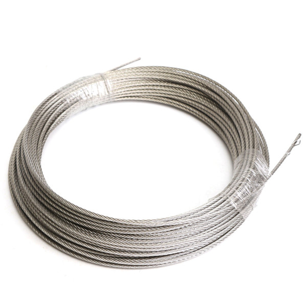 304 Stainless Steel 3mm Diameter Cable Wire Clothes Cable Line Wire ...