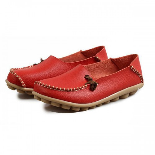 US Size 5-11 Shoes Women Flats Comfortable Casual Outdoor Breathable Slip On Flats Loafers Shoes