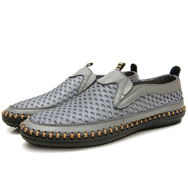 Mens Breathable Oxfords Mesh Sweat