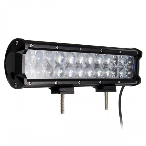 11inch 72W 24LED Spot Flood Lamp Combo Work Light Bar For ATV SUV Jeep Truck Offroad