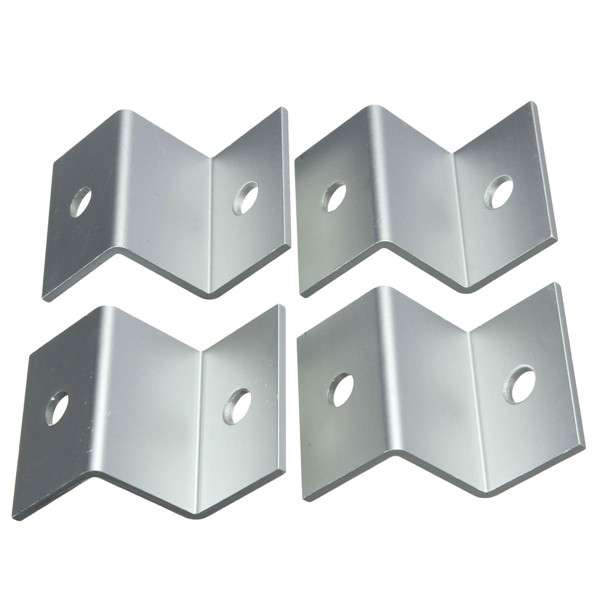 4pcs Z Type Bracket for Solar Panel Mounting Solar Energy Battery Plate