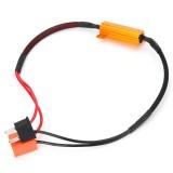 H7 50W-8Ohm Canbus Error Free Load Resistor Car LED Decoder Warning Canceler 12V