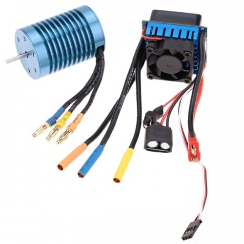 3650 4370kv 4p Sensorless Brushless Motor With 45a