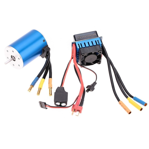 3650 3100kv 4p Sensorless Brushless Motor With 60a