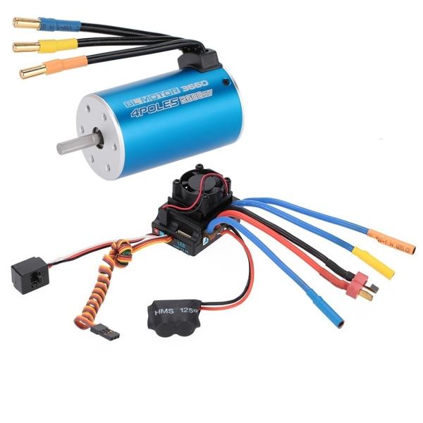 3660 2600kv 4p sensorless brushless motor 80a brushless for Sensorless bldc motor control