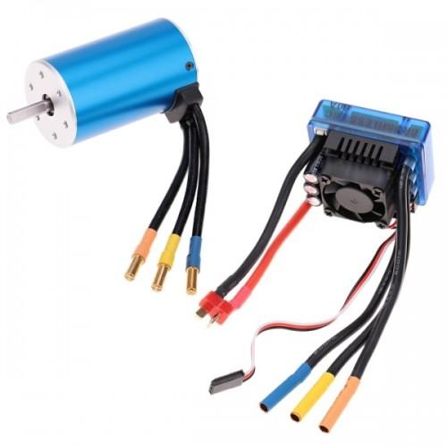 3660 2600kv 4p Sensorless Brushless Motor With 80a