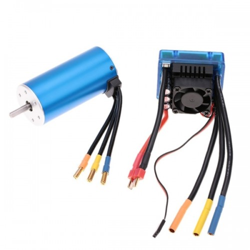 3674 2250kv 4p Sensorless Brushless Motor With 120a