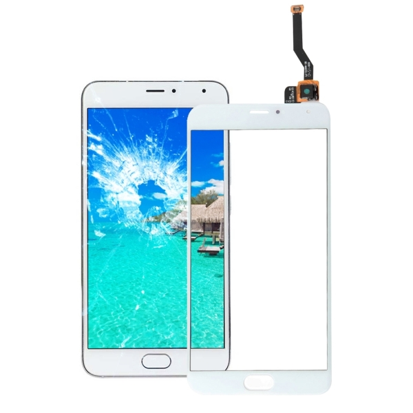 Meizu Meilan Metal Touch Screen Digitizer Assembly (White ...