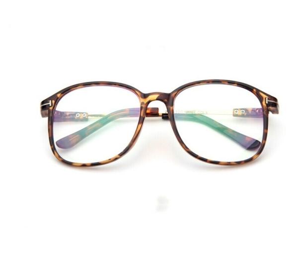 Retro Full Frame Optical Glasses (Leopard) Alex NLD