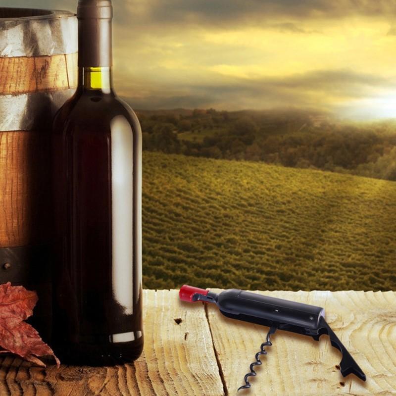 Multifunctional Bottle Shape Wine Beer Opener Portable Folded Wine Opener Wine Beer Acessaries