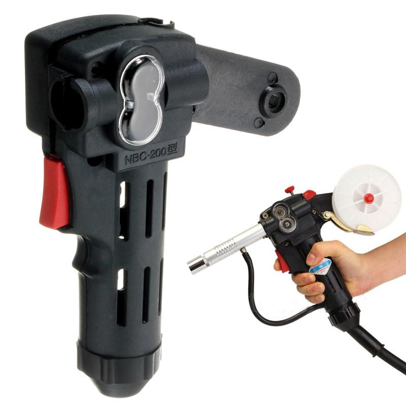 NBC200A Wire Drawing Welding Torch Black Plastic Spool Gun | Alex NLD