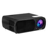 Uhappy U20 Pro WiFi 2600LM 1080P Home Theater 800*480 Mini Projector with Remote Control, Support HDMI + YPbPr + TV or DTV + AV + VGA (Black)